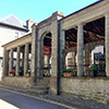 Medieval butter market building located below the apartments. Don't miss the farmer's market on Thursday mornings!